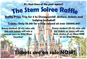 STEM Soiree Raffle - Tickets on sale NOW!