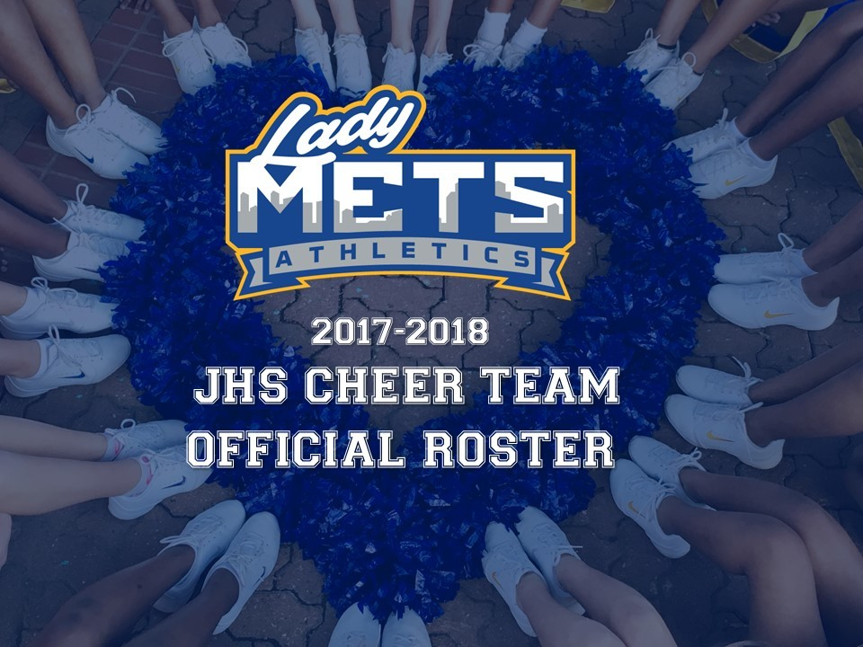 2017-2018 JHS Cheer Team Roster