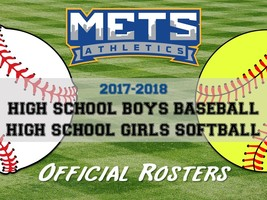 2017-2018 Baseball/Softball Teams Announced