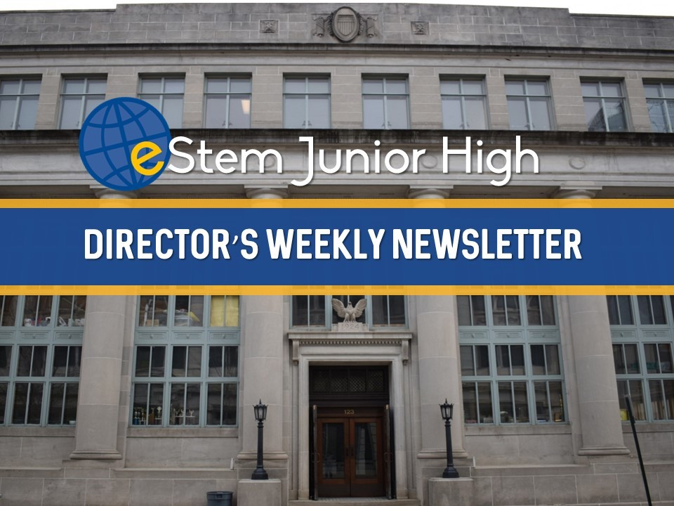 Junior High Director's Weekly Newsletter (Week 9)