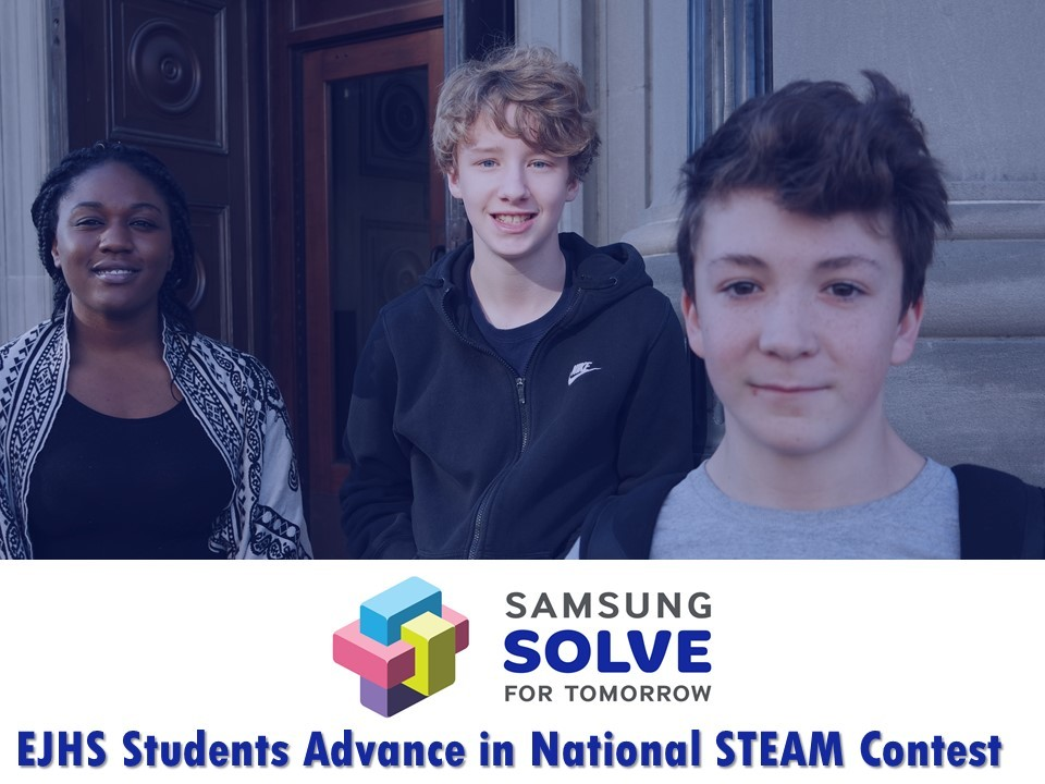 EJHS Student Advance in National STEM Competition