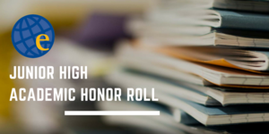 Junior High Announces Honor Roll Recipients