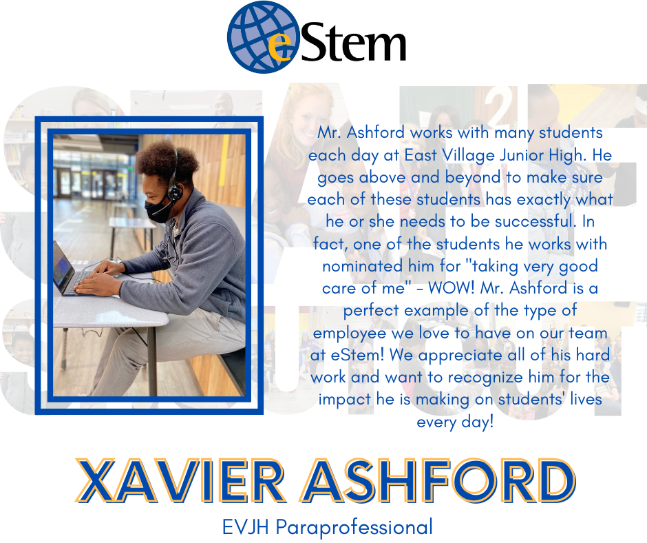 Staff Shoutout - Mr. Ashford!