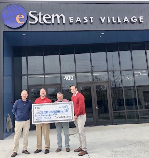 eStem Awarded $7000 from Centerpoint Energy