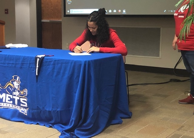 Lady Mets Jaylen Mallard Signs With South Alabama
