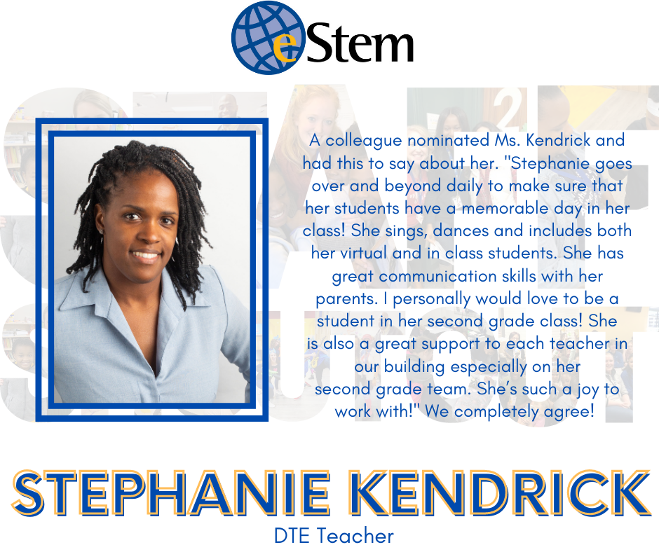 Staff Shoutout - Ms. Kendrick!
