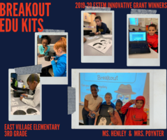 Innovative Grant Winners - Breakout EDU Kits