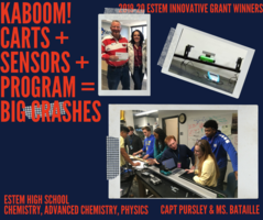 Innovative Grant Winners - Kaboom! Carts + Sensors + Program = Big Crashes!