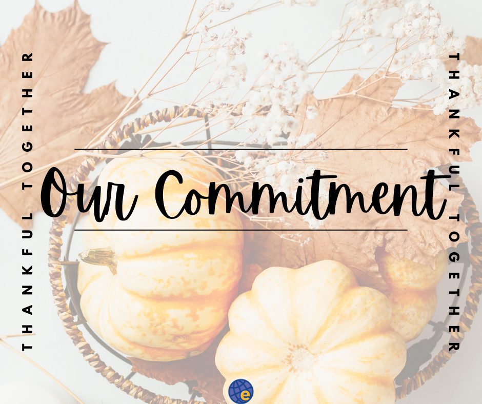Thankful for commitment