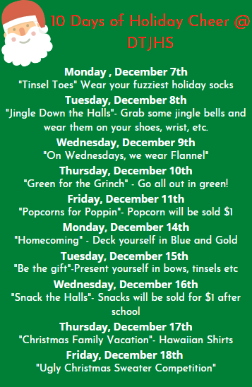10 Days of Holiday  Cheer