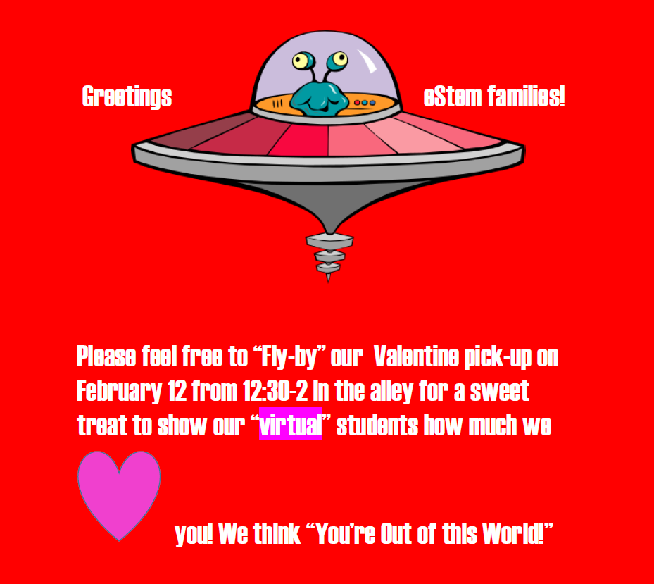 Valentine Fly By