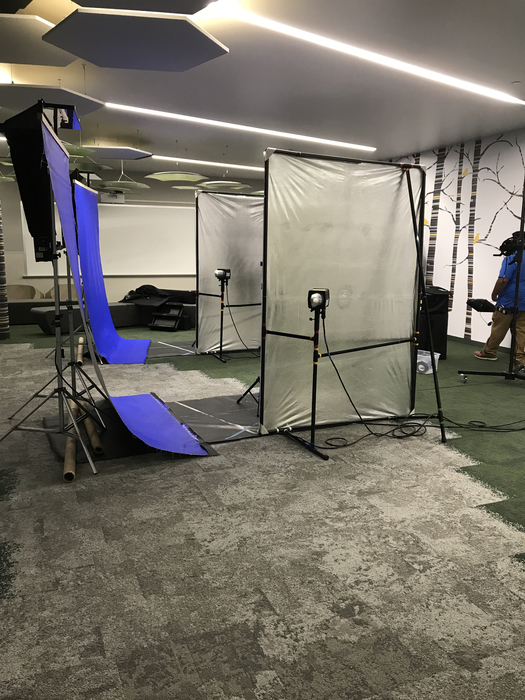 Picture day set up