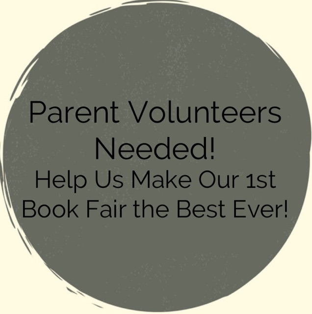 Volunteer at the Book Fair!