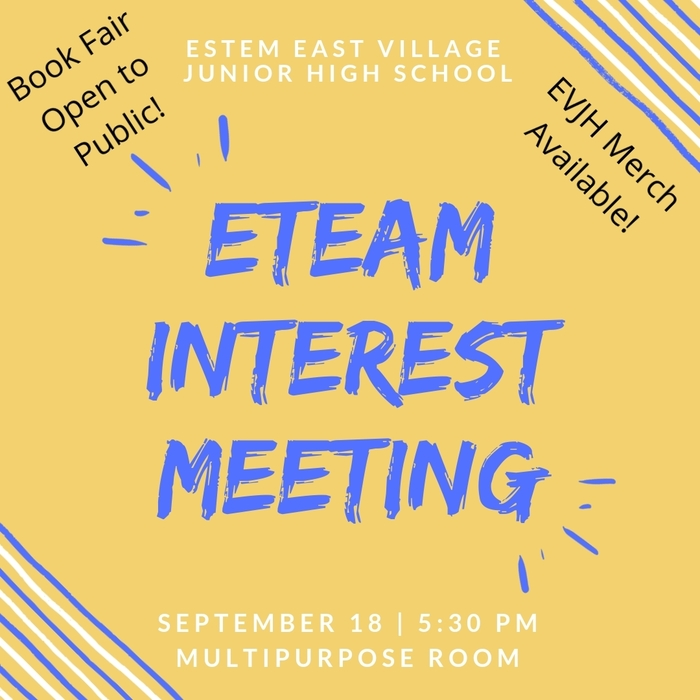 EVJH eTeam Interest Mtg