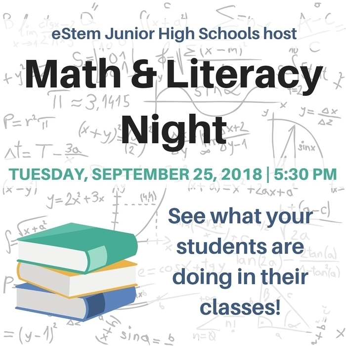 Math Literacy Night