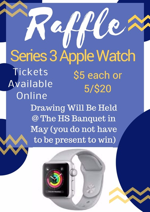Series 3 Apple Watch Raffle