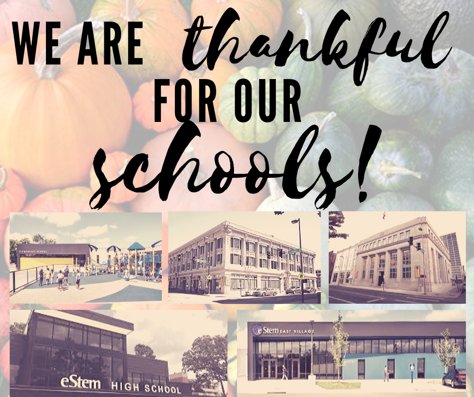 Thankful for our schools!