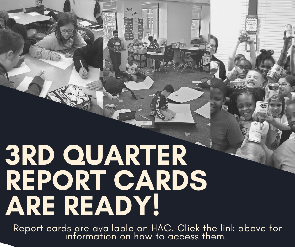 3rd Quarter Report Cards